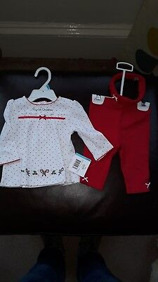 Little Me Baby Girl Christmas Outfit 6 Months NWT