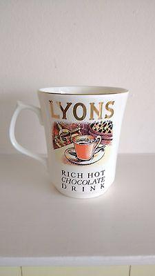 WADE Made Exclusively for Lyons Tetley - LYONS Rich Hot Chocolate Drinking MUG