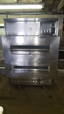 Middleby Marshall 360350 Double Stack Pizza Conveyor Ovens Natural Gas Tested