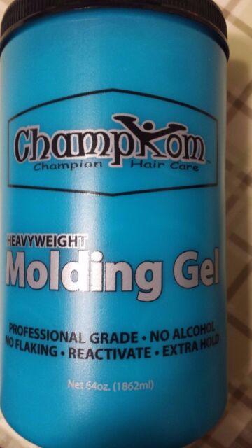 Champion Heavyweight Blue Champkom 64 Oz Hair Gel