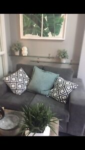 """Cozy, Quality, Condo-Sized Couch - 60"""""""