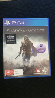Middle Earth Shadow Of Mordor PS4 Game