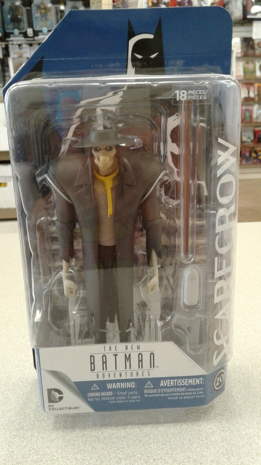 DC Collectibles The New Batman Adventures: Scarecrow Action
