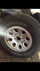 """16 """" tires and rims"""