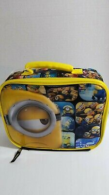 Despicable Me soft lunch box Best Buy Exclusive NWT