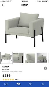 2- IKEA Koarp Chairs
