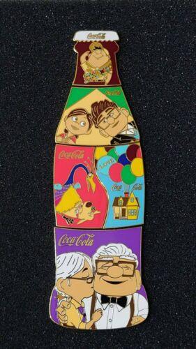 "Fantasy pins COKE puzzle 5 pins ""UP"" movie Carls & Ellie Love brown"