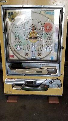 Vintage Used Nishijin Shiroi Kamome Japanese Pachinko Super DX Machine!