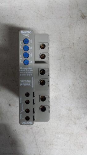 Nordic 91AJ34A0A Dual Ramp Soft Start Induction Motor Controller Series 25B