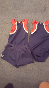 Robertson gymnastics boys leotard x2 1x shorts size 6 Tingalpa Brisbane South East Preview