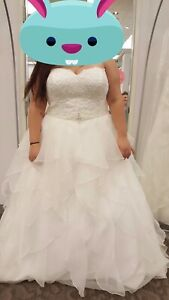 Brand new plus size wedding dress