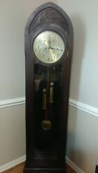 Herschede grandfather clock 1920 year make