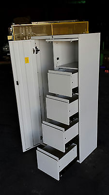 Steelcase Metal Locker 18 X 30 X 64 Storage Unit School Gym Office Work Cabinet
