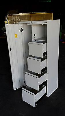 Steelcase Metal Locker 18 X 30 X 64 Storage Unit School Gym Office Work Cabinet