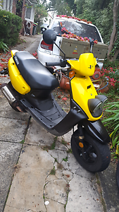 2 x yamaha bee wee scooters for sale or swapping Mount Lewis Bankstown Area Preview