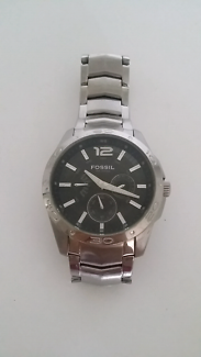 Mens FOSSIL BQ9328 Stainless Steel Watch