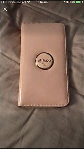 Near To NEW in Perfect Condition Blush Pink MIMCO Travel Size Wallet Georgetown Newcastle Area Preview