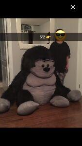 Huge Gorilla stuffed plush for sale