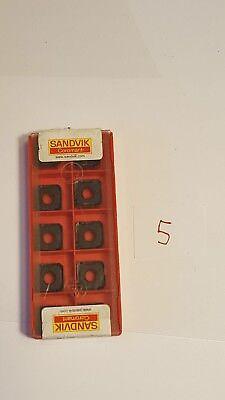 Sandvik Lathe Turning Insert - Square - 345r-1305m-ph 3220 - 10x