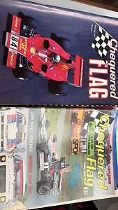 Collectable chequered flag mags x 30 Creswick Hepburn Area Preview