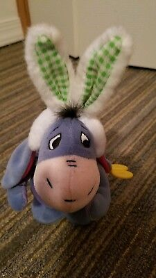 Disney Eeyore Wearing Easter Costume Happy Hopper Wind-Up Toy (Winnie The Pooh)](Wind Up Toy Costume)