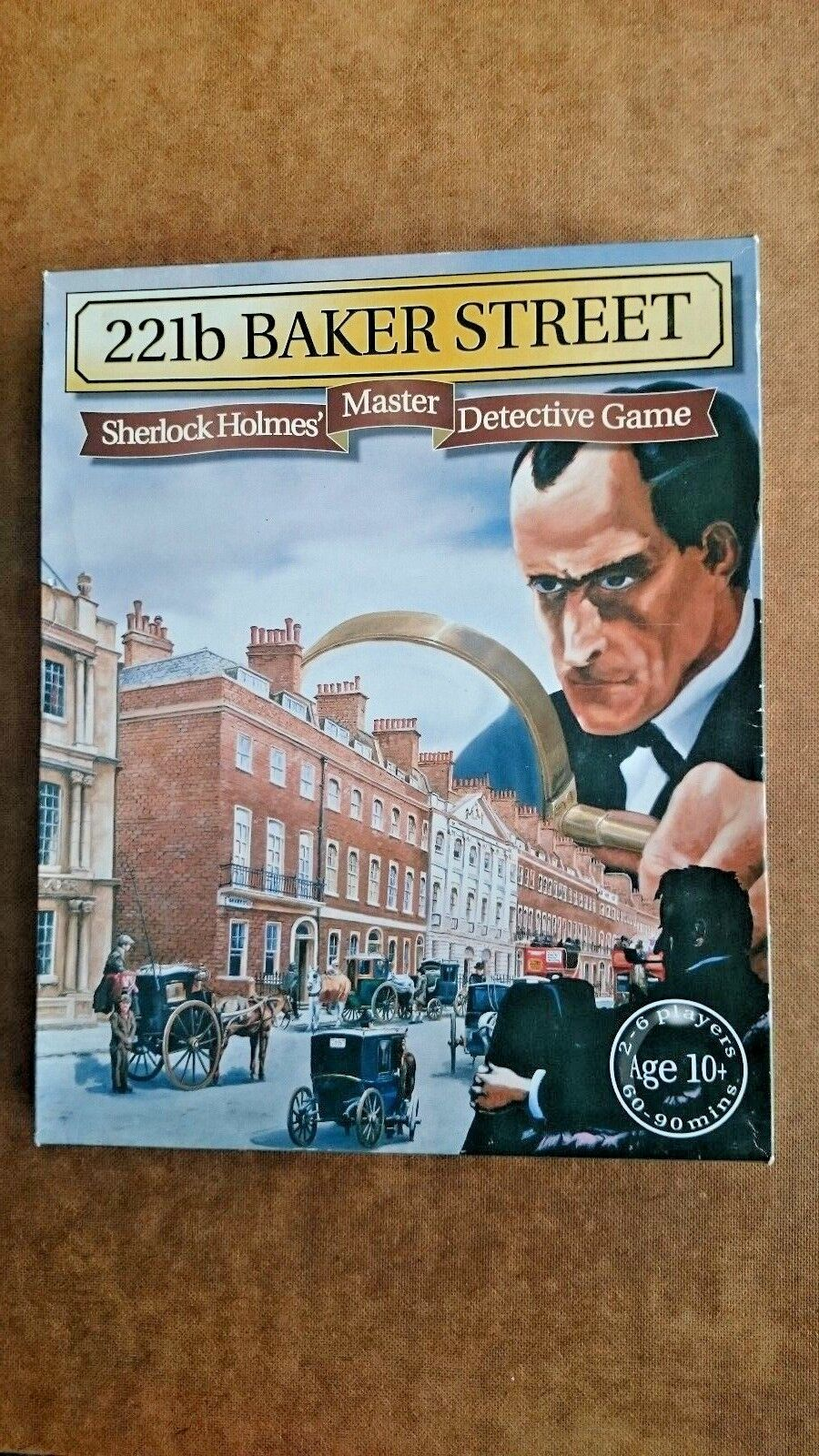 221b Baker Street Sherlock Holmes Master Detective Game by Gibsons (NEW)