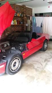 C4 corvette convertible  Illawong Sutherland Area Preview