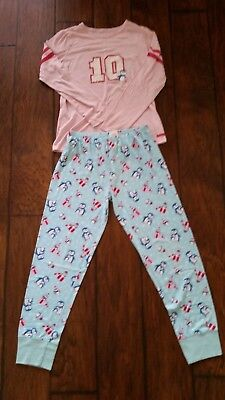American Girl Holiday Penguin Pajamas for Girls Size L 14/16 (Holiday Penguin)