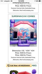 Brand new jumping castle(5 in 1 combo ) for $3000 Old Toongabbie Parramatta Area Preview