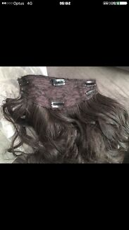 Full head hair extensions 19inch plus extras accessories clip hair extension pmusecretfo Choice Image