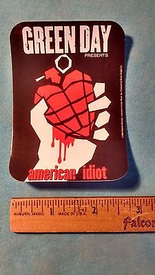 Green Day American Idiot PAPER 3.75 x 2.75 inch Sticker