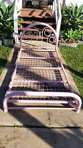 Single bed pink frame has been modified Zillmere Brisbane North East Preview