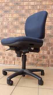 Blue Fabric Office Chair Good Quality