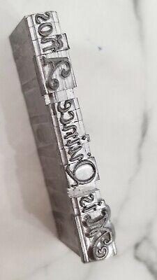 Kingsley Letterpress 18pt Hot Foil Stamping Machine Mis Quince Aos Die Emblem