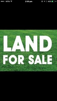 LAND FOR SALE / NOMINATION  (THE GRACE ESTATE)