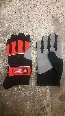 Dragon Fire Rope Rescue Gloves Small