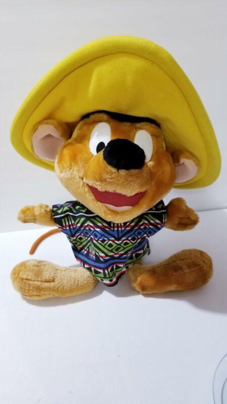 "VTG Looney Tunes Speedy Gonzales JUMBO 24"" Toy Plush *Rare*"