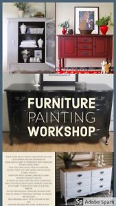 LEARN TO PAINT FURNITURE