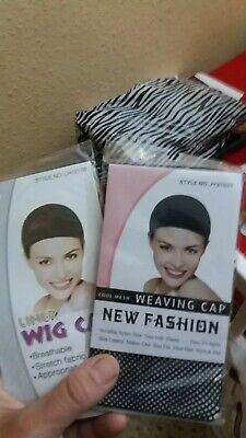 wig cap lot 2 pcs redecillas dos red para peluca para tapar...