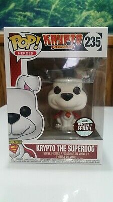 FUNKO POP HEROES 235 KRYPTO THE SUPERDOG 3.75