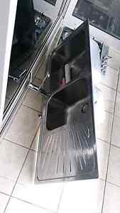 STAINLESS STEEL DOUBLE SINK & MIXER Woolloomooloo Inner Sydney Preview