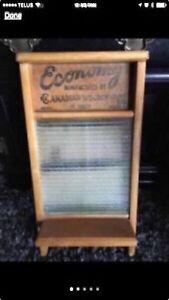 Washboard, Vintage