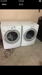 """27""""Whirlpool duet Stackable Washer/DRyer can Deliver"""