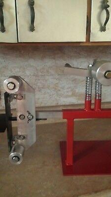 2x72 BELT SANDER GRINDER KNIFE MAKING STEEL WOOD,  HEAVY DUTY WITH DRIVE WHEEL