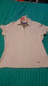 Women's Callaway Golf Polo shirt (size L) #new condition# Slacks Creek Logan Area Preview