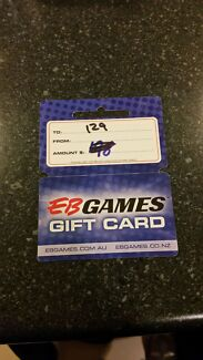 Eb Games Gift Card $129  Logan Reserve Logan Area Preview