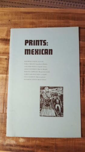 VERY SCARCE/ PRINTS: MEXICAN / 8 Prints From Faculty Press, Circa 1965