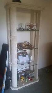 Glass and stone display cabinet Bald Hills Brisbane North East Preview