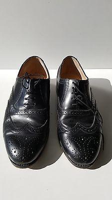 VTG Men's Dress Shoes - Brown Phillip Martin Size 10