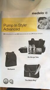 Madela double breast pump
